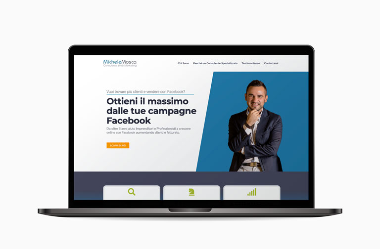restyling sito Michele Mosca