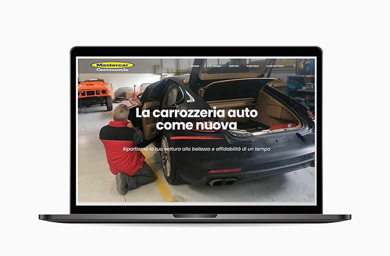 homepage di carrozzeriamastercar.it